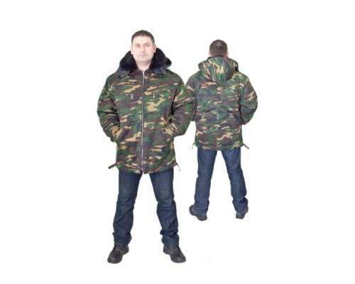 Куртка КОМБАТ (кмф, зеленая)