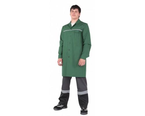 Рабочий халат СИБИРЯК (зеленый)