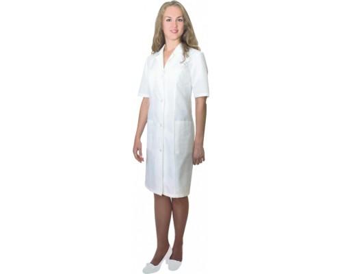 Медицинский халат СЕЛЕНА (белый)