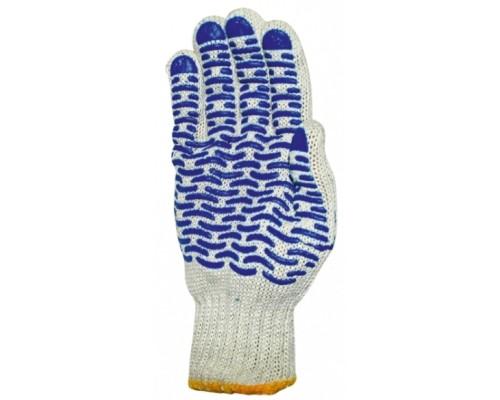 Перчатки ХБ С ПВХ ВОЛНА (10-й класс)